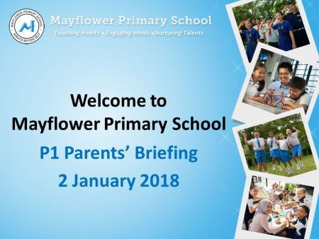 Curriculum Briefing for P1 Parents